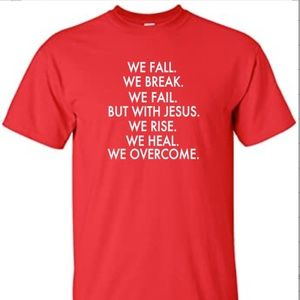 Other - IN JESUS WE OVERCAME COTTON SHIRT